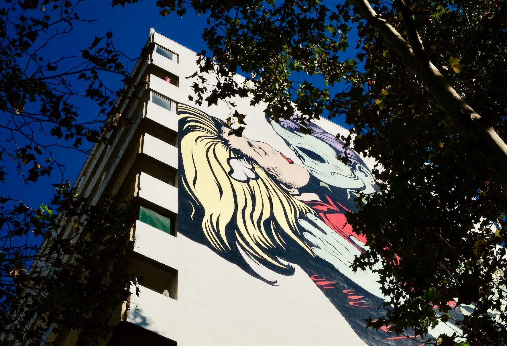 Street Art Paris 13 D*Face