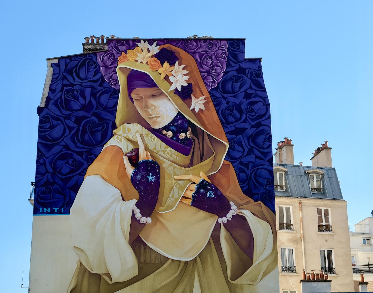 Street Art Paris 13 inti