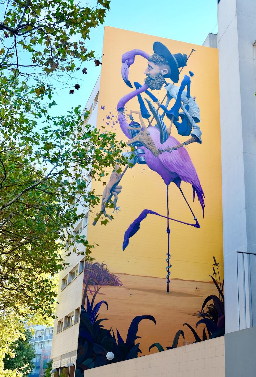 Street art paris 13 Maye