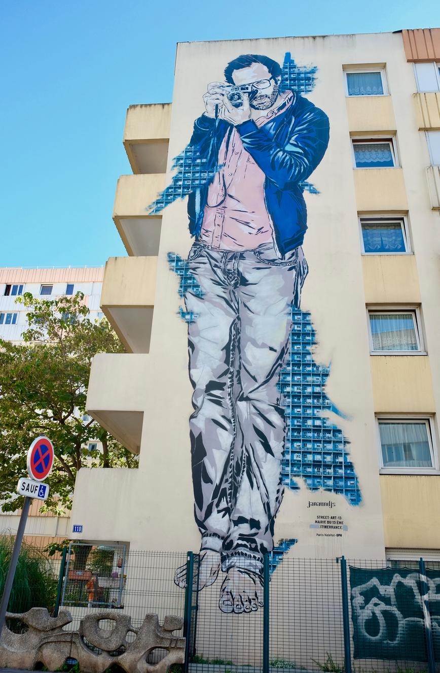 Street art paris 13 Jana&Js
