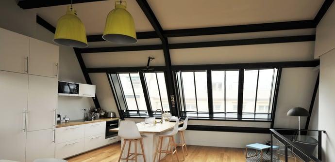 Ouverture terrasse dernier étage