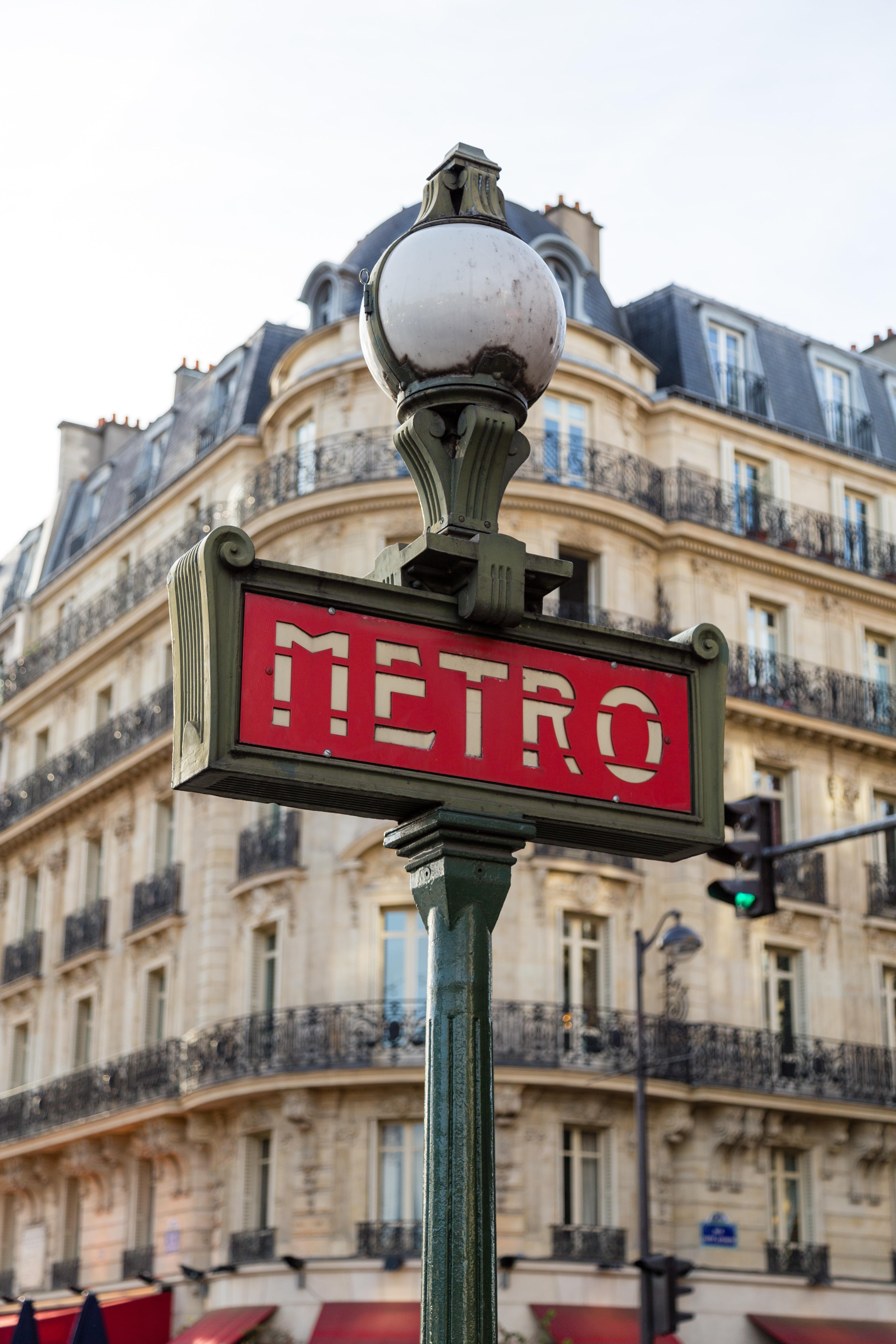 métro paris visite appartement